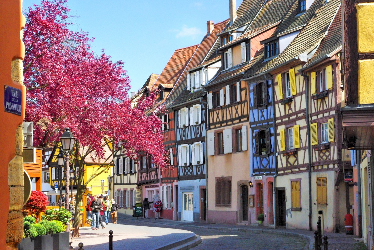 Photos of Spring in Alsace - Colmar © French Moments