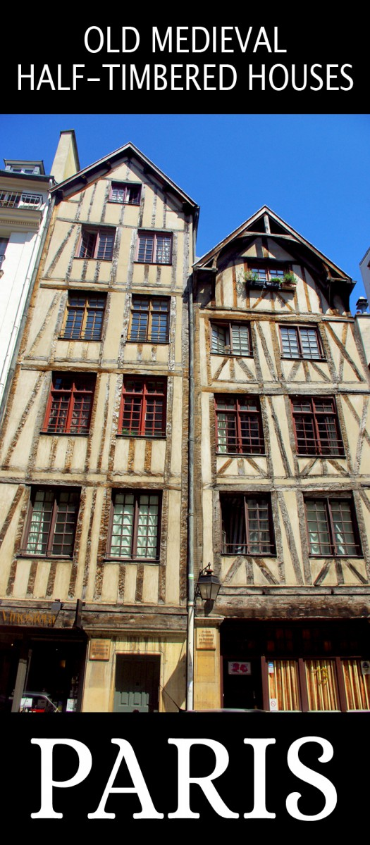 Discover old medieval houses in Paris © French Moments