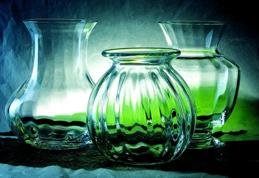 Crystals from the Hartzviller crystal works © Cristallerie de Hartzviller