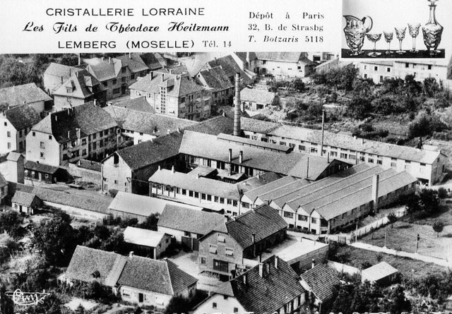 The former crystal works of Lemberg