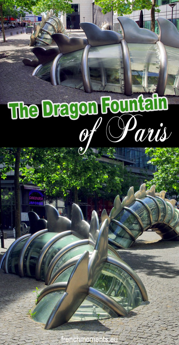 The Dragon Fountain of Paris © French Moments