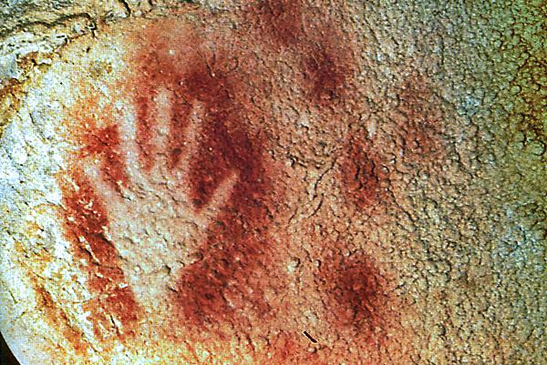 Cave of Pech Merle - paintings (Public Domain)