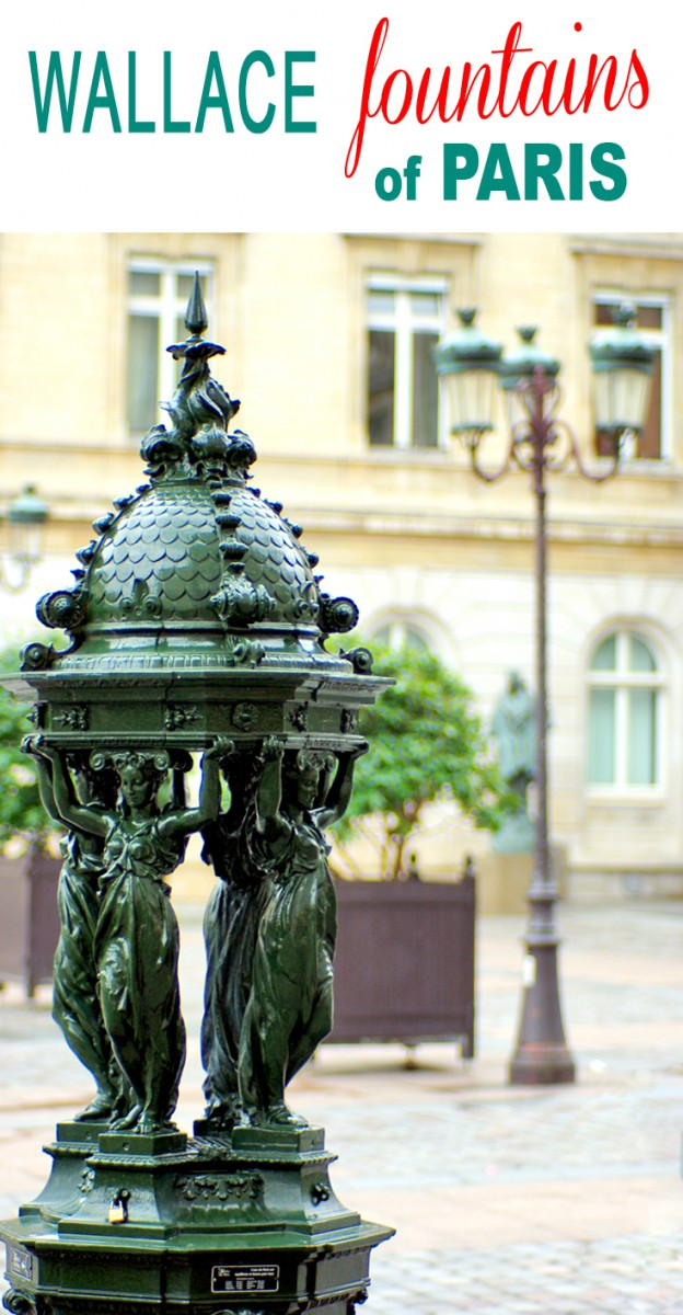 Learn more about the Wallace Fountains of Paris © French Moments