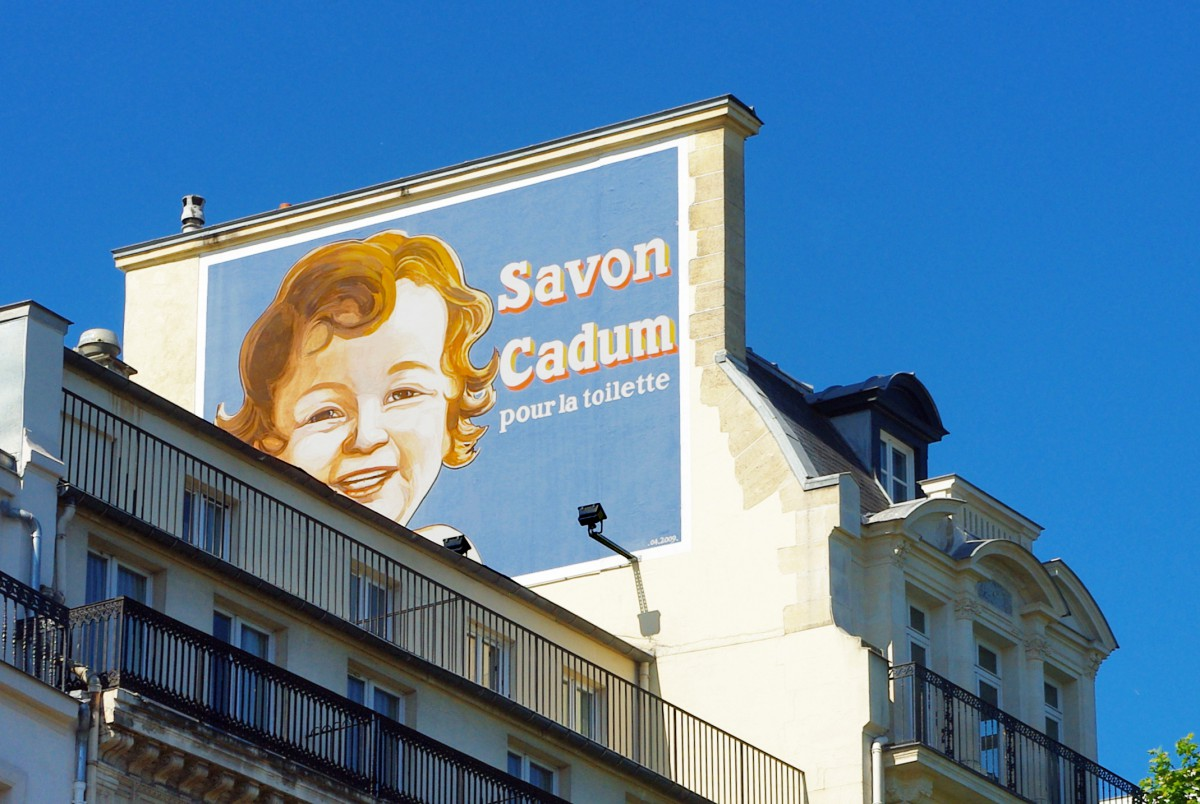 Cadum Advertisement at 3 Boulevard Montmartre Paris © French Moments