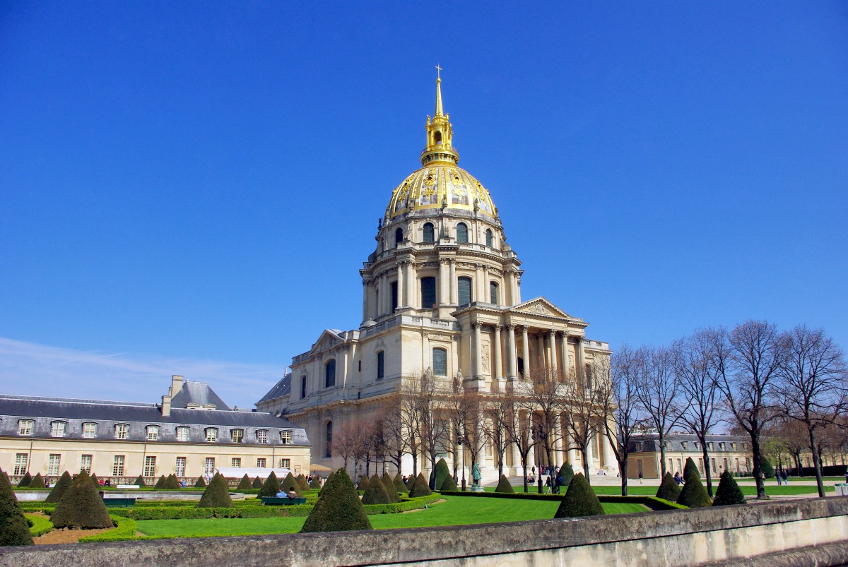 The Dome church of Les Invalides © French Moments