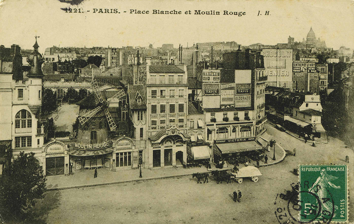 Place Blanche in 1910