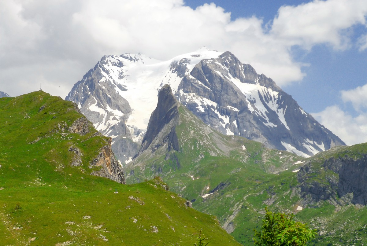 The Grande-Casse from Mont Bochor © French Moments