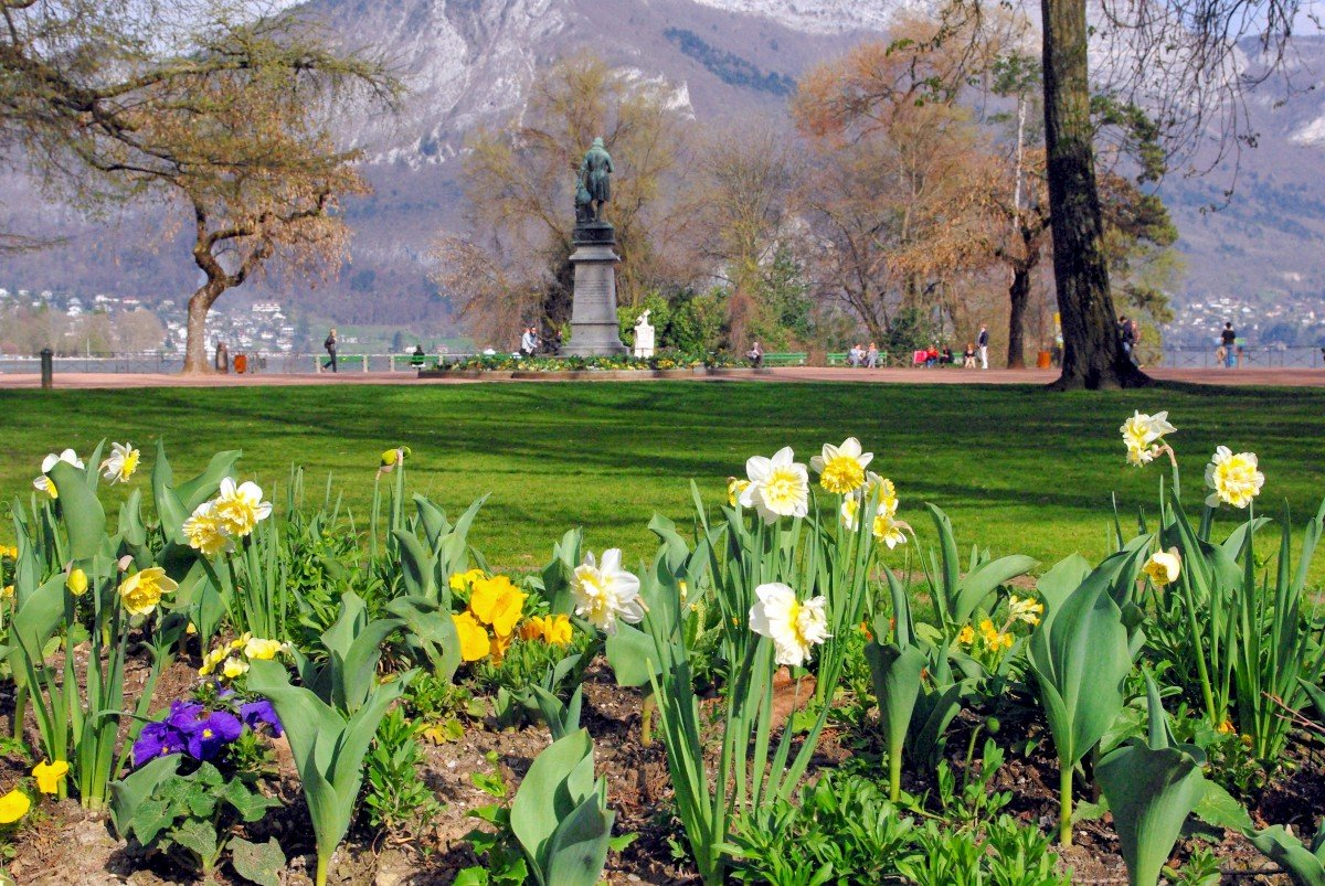 Jardins de l'Europe, Annecy © French Moments