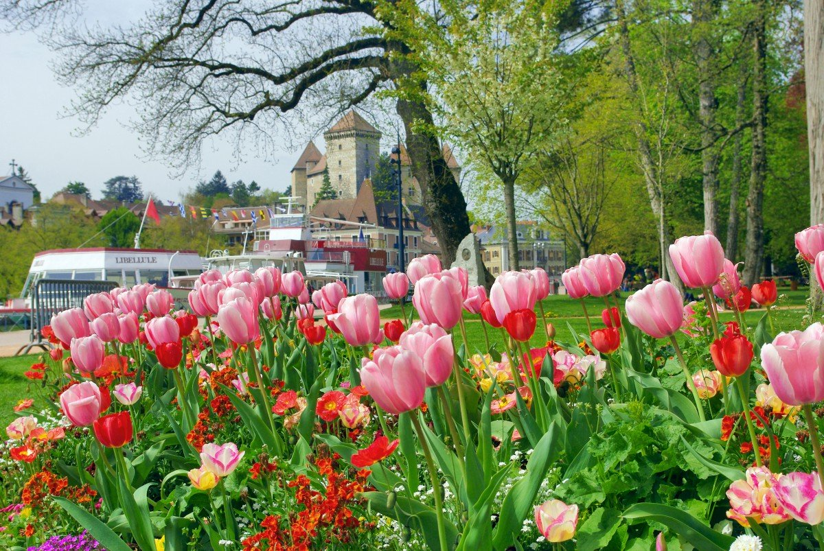Jardins de l'Europe Annecy © French Moments