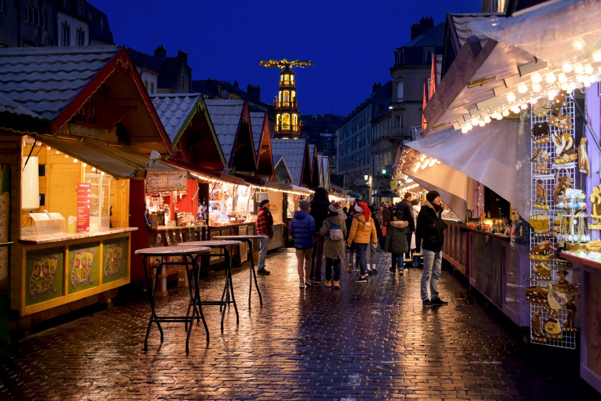 Metz Christmas Market on place Saint-Louis © French Moments
