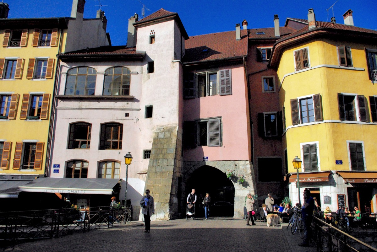 Passage de l'Île Annecy © French Moments