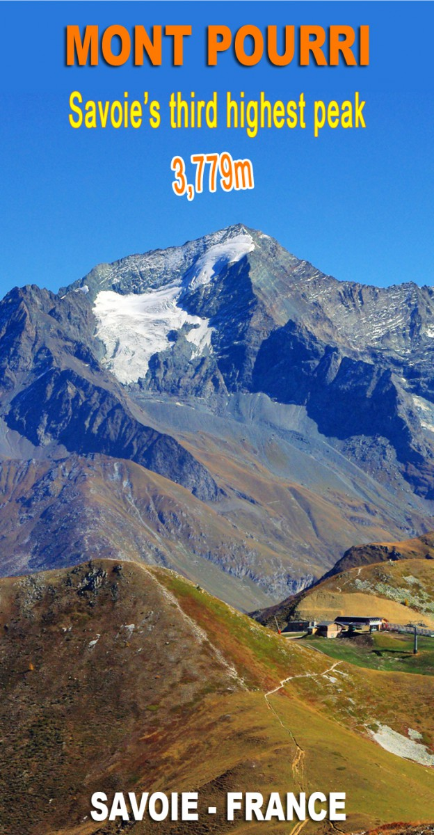 Discover the Mont Pourri, Vanoise's second highest peak © French Moments