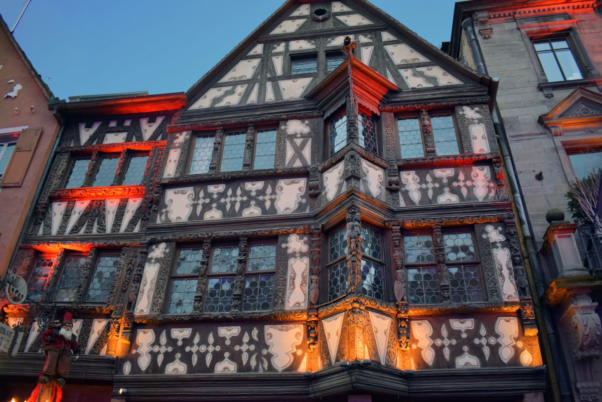 The Maison Katz in Saverne, one of the most beautiful Renaissance houses in Alsace © French Moments