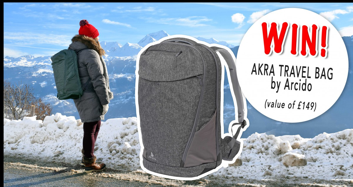 Win the Akra travel bag by Arcido!