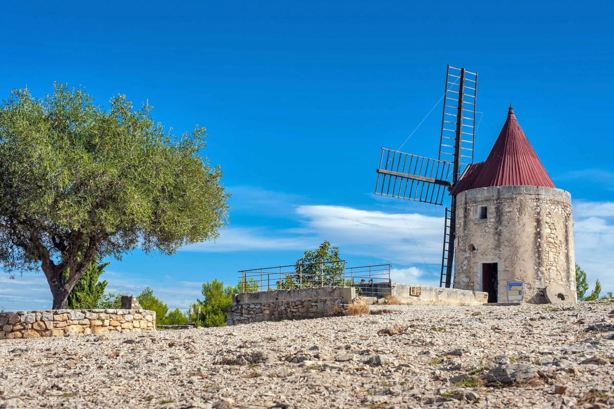 Daudet Windmill - Stock Photos from ladderadder - Shutterstock