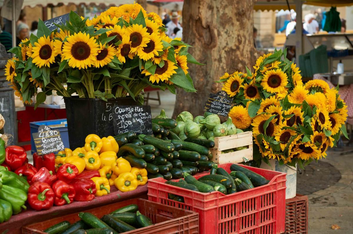Provençal market - Stock Photos from Nikolay Dimitrov - ecobo - Shutterstock