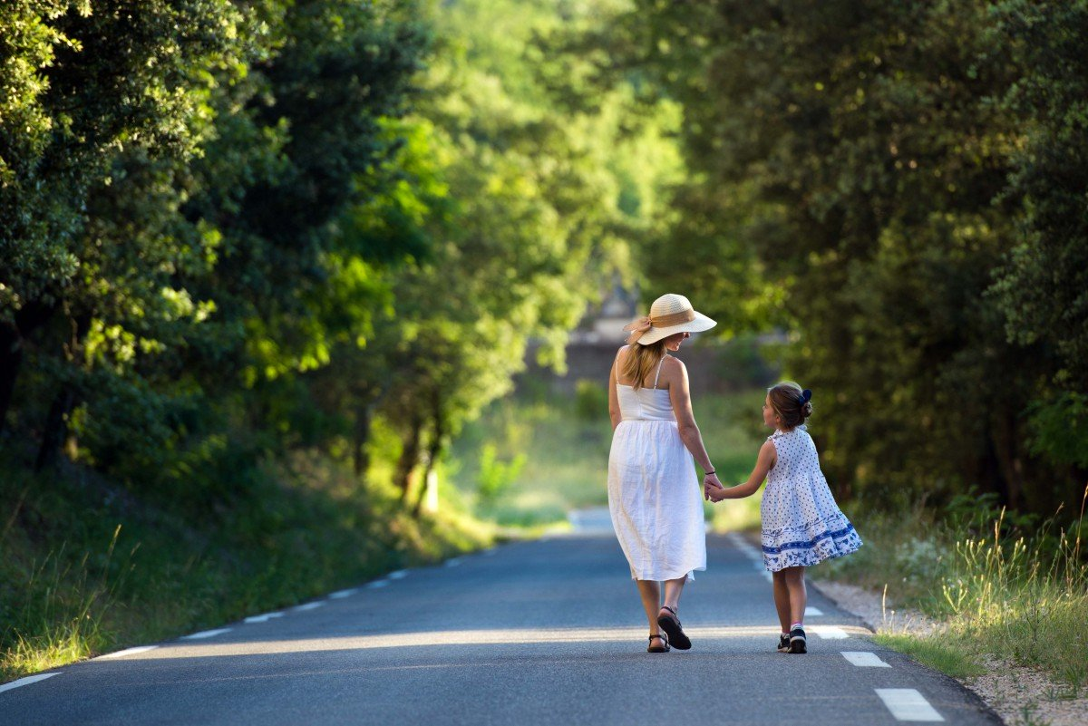 A family stroll in Provence - Stock Photos from BonnieBC - Shutterstock