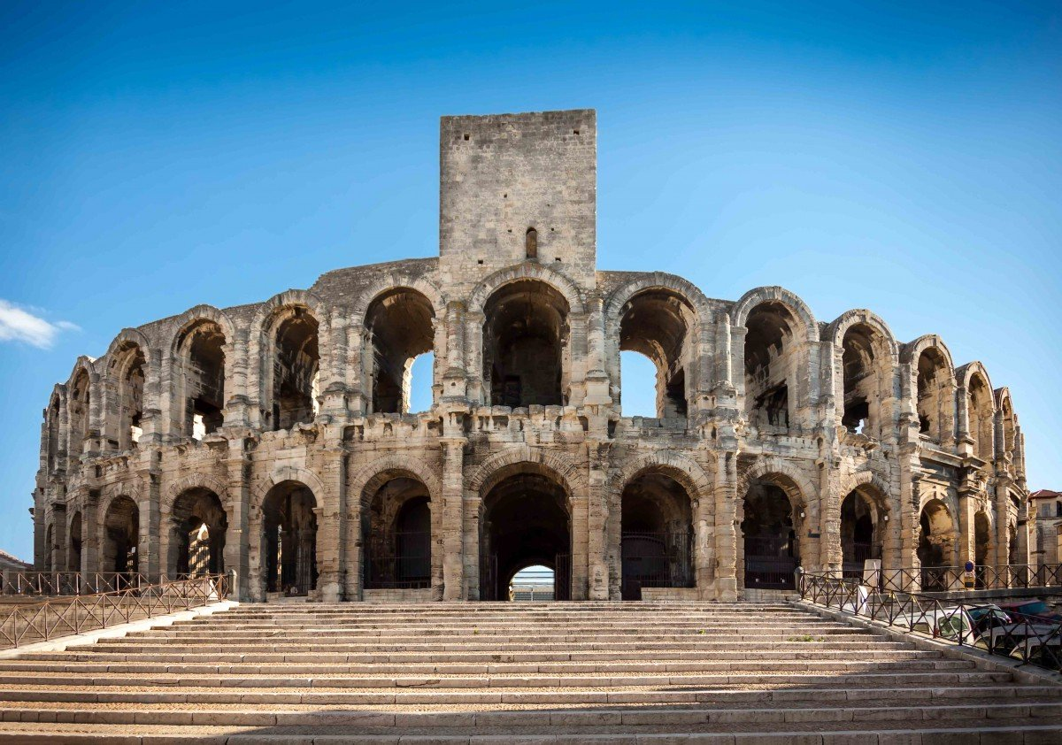 The Amphitheatre (Roman arena) in Arles - Stock Photos from Gerhard Roethlinger - Shutterstock