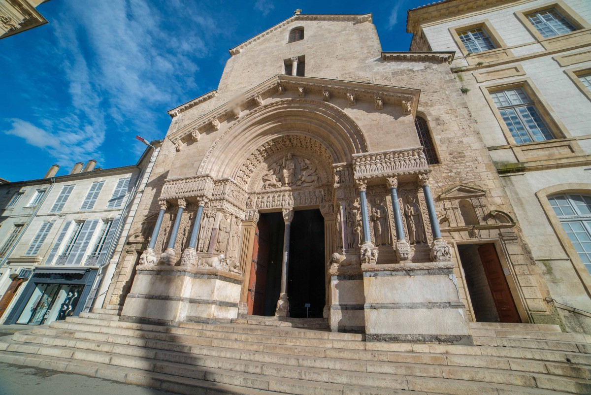 Saint-Trophime cathedral in Arles - Stock Photos from illpaxphotomatic - Shutterstock