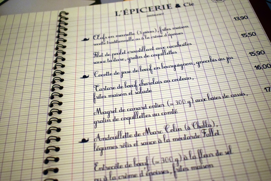 Restaurant L'Epicerie & Cie © French Moments