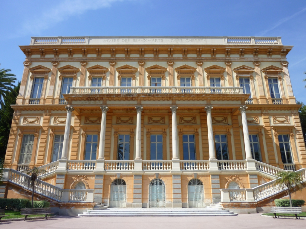 Fine Arts Museum of Nice © Miniwark - licence [CC BY-SA 3.0] from Wikimedia Commons