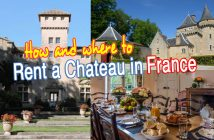 Rent a chateau in France