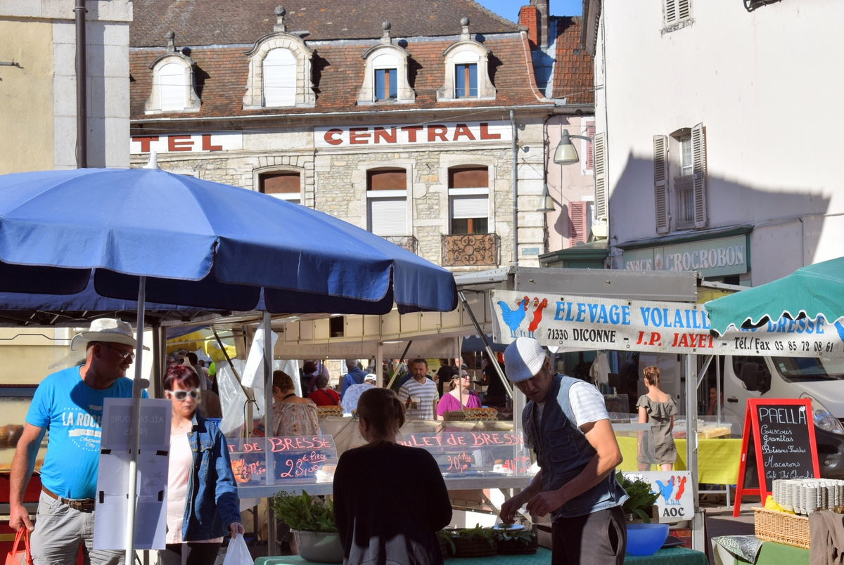 Market Day in Chagny! © French Moments