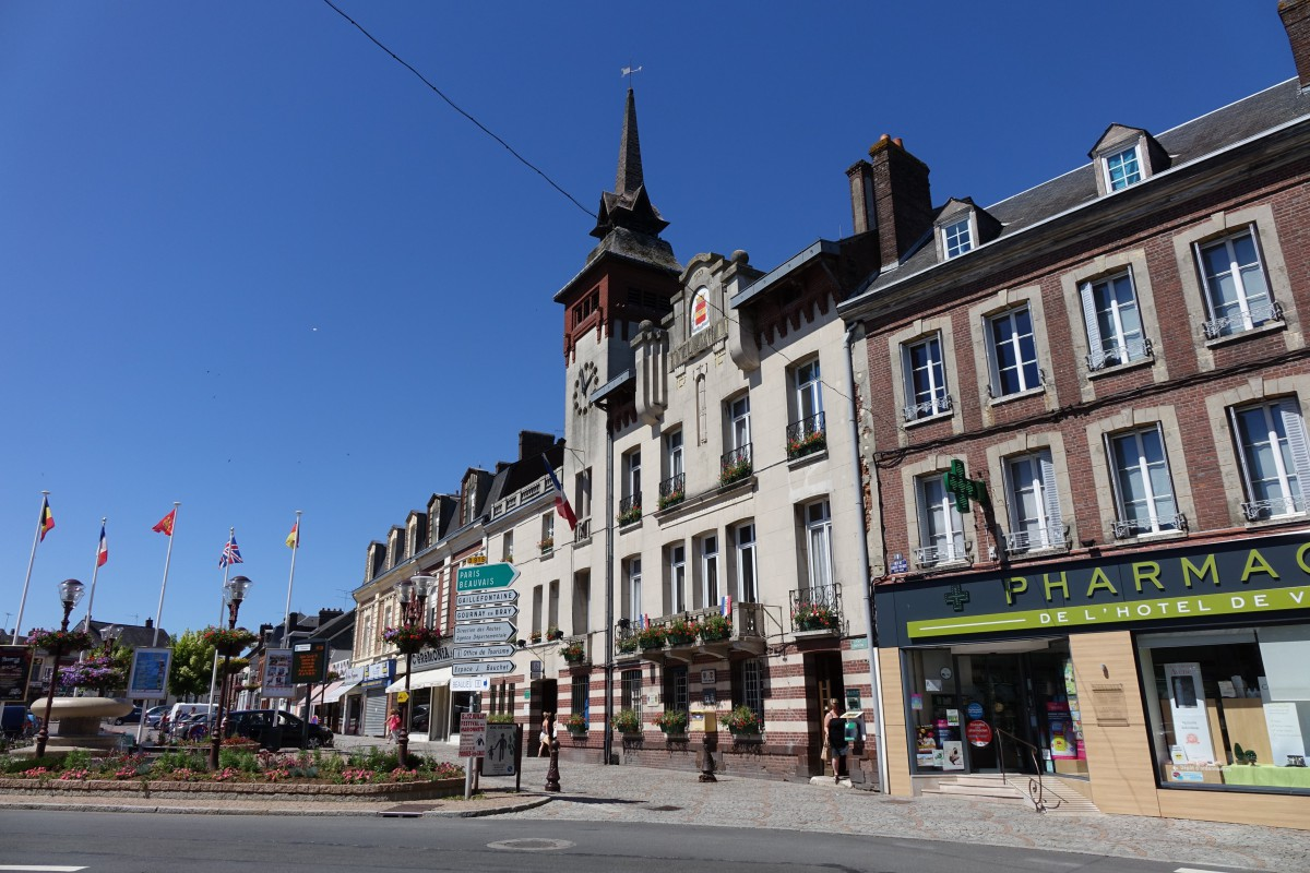 Forges-les-Eaux © Eponimm - licence [CC BY-SA 4.0] from Wikimedia Commons