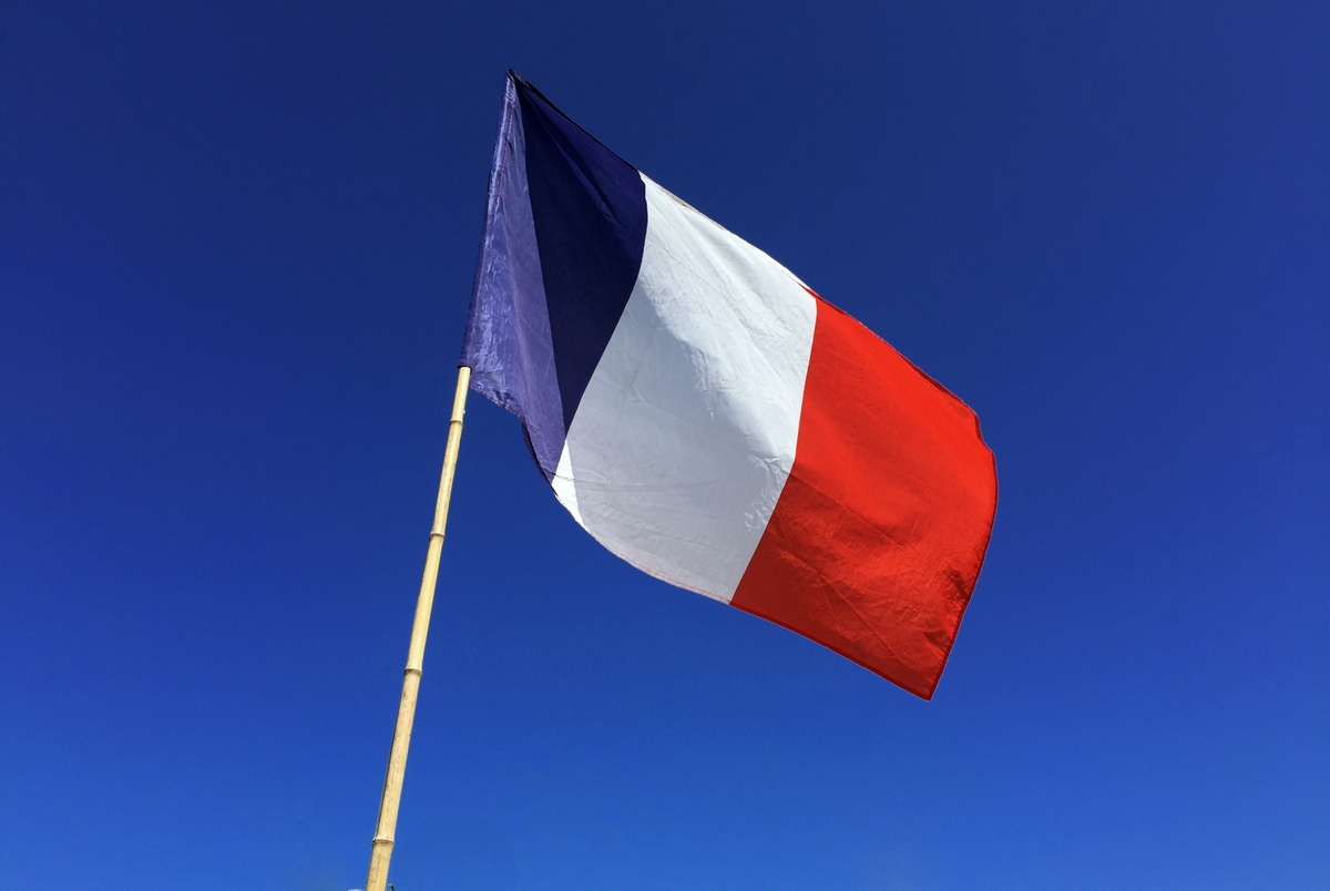 French flag at Heathfield © French Moments