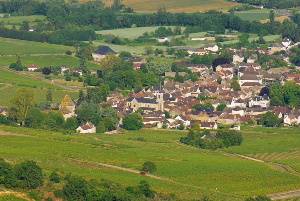Santenay from Mont de Sène © French Moments