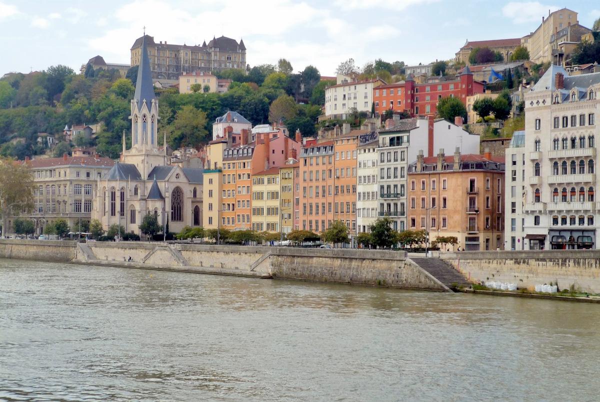River Saône, Lyon © French Moments