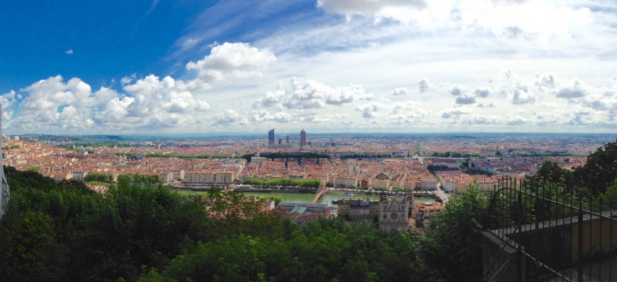 View of Lyon - Photo by @tmiladinov via Twenty20