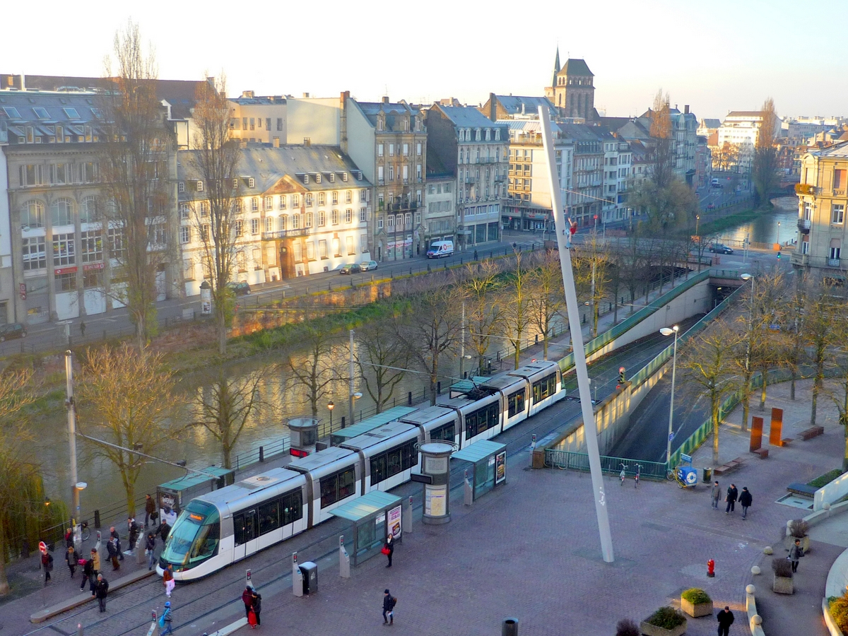 The view from Novotel in Strasbourg-Centre-Halles © French Moments