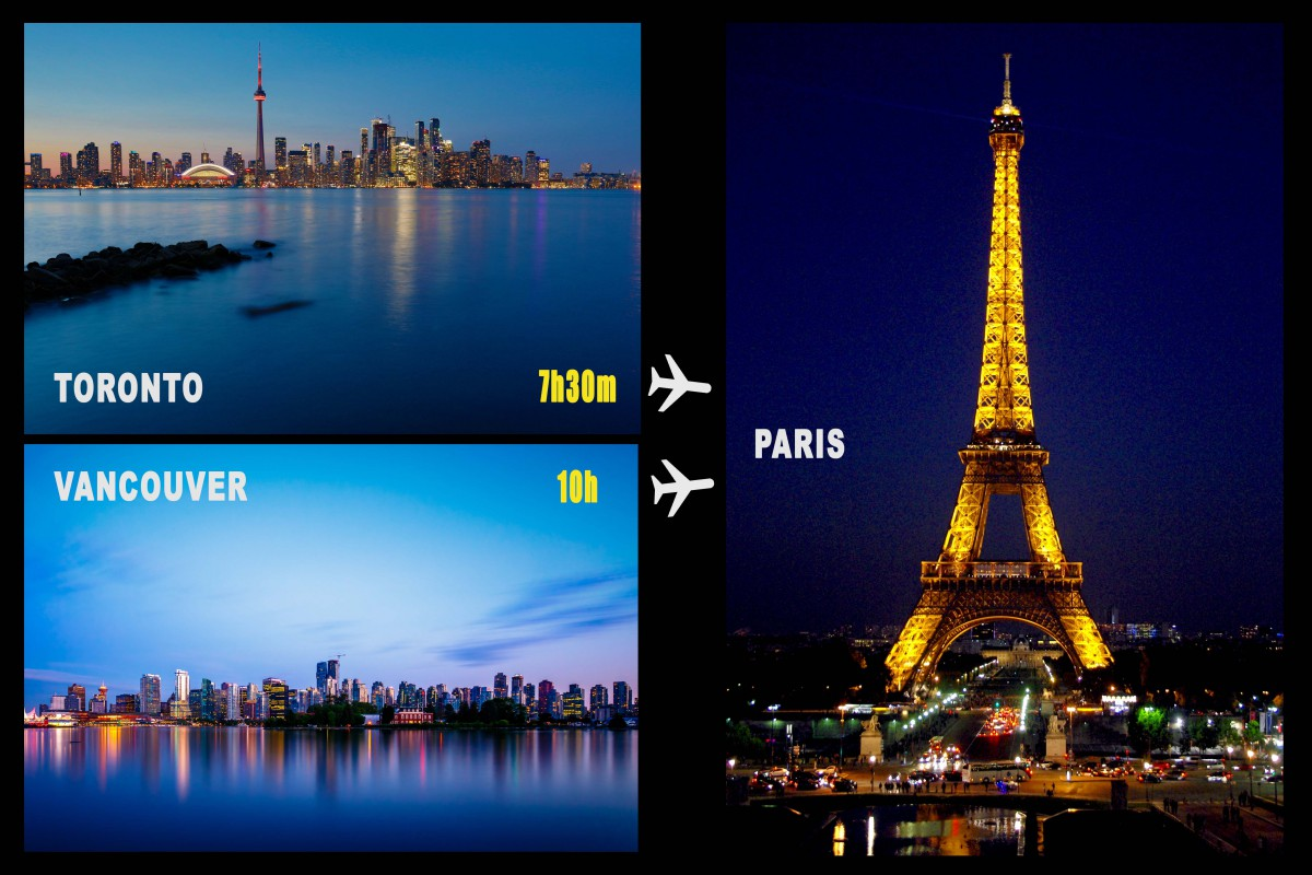 Travel to France from Canada