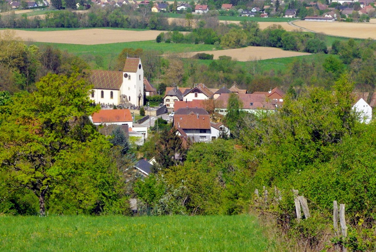 The village of Heidwiller in the Sundgau © French Moments