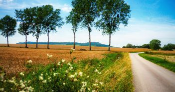 Photos of rural France - The countryside of Lorraine near Sion © French Moments