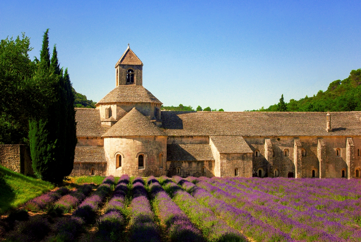 Sénanque Abbey near Gordes © French Moments