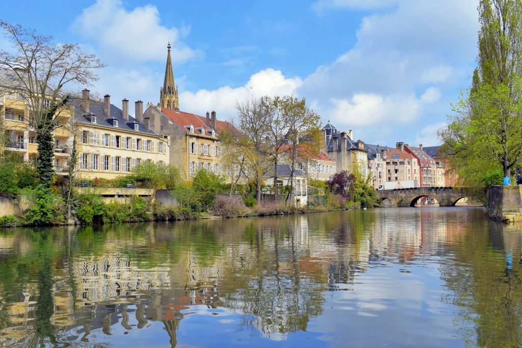 Metz by the River Moselle © French Moments