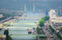 Rivers in France: the Seine in Rouen © French Moments