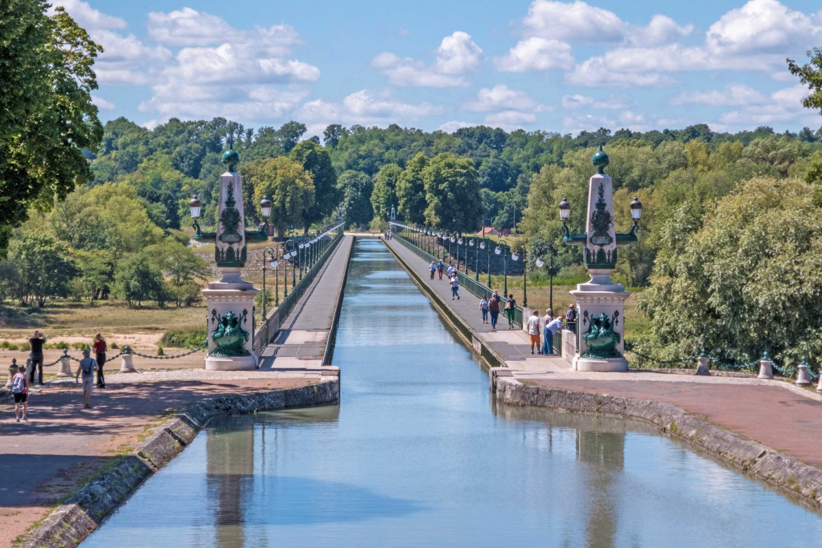 Pont-Canal of Briare © Jean-Christophe BENOIST - licence [CC BY 4.0] from Wikimedia Commons