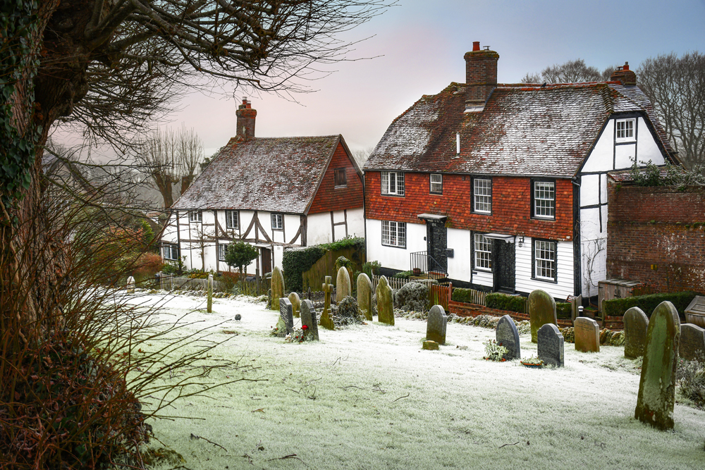 Burwash in winter © French Moments