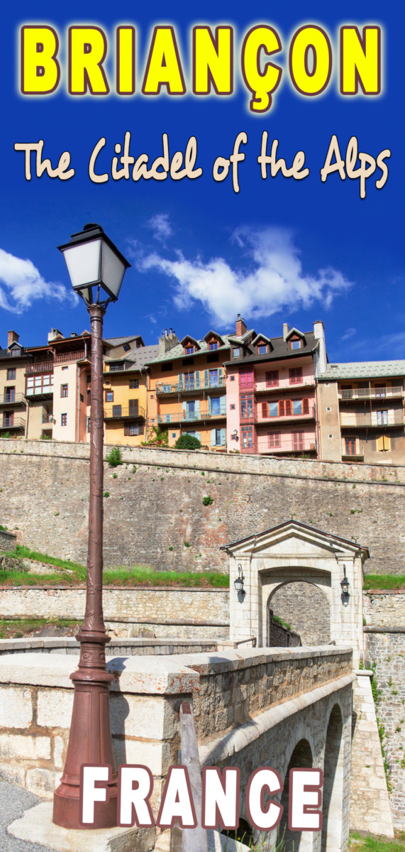 The old fortified town of Briançon @SteveAllenPhoto via Twenty20