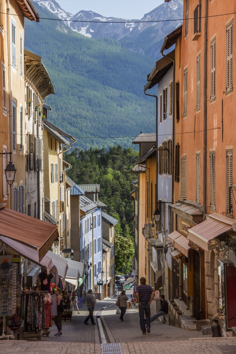 Old street of Briançon @SteveAllenPhoto via Twenty20
