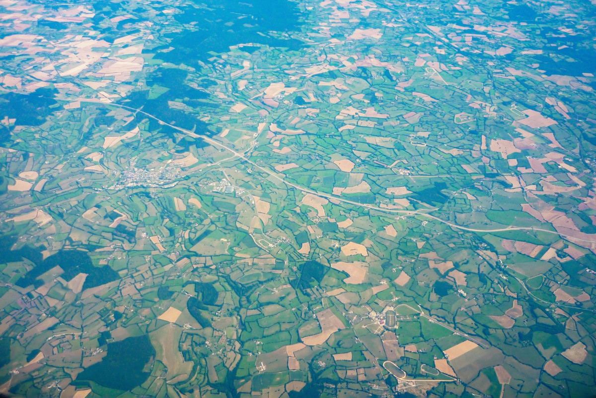 French Countryside - Bocage normand from above © French Moments