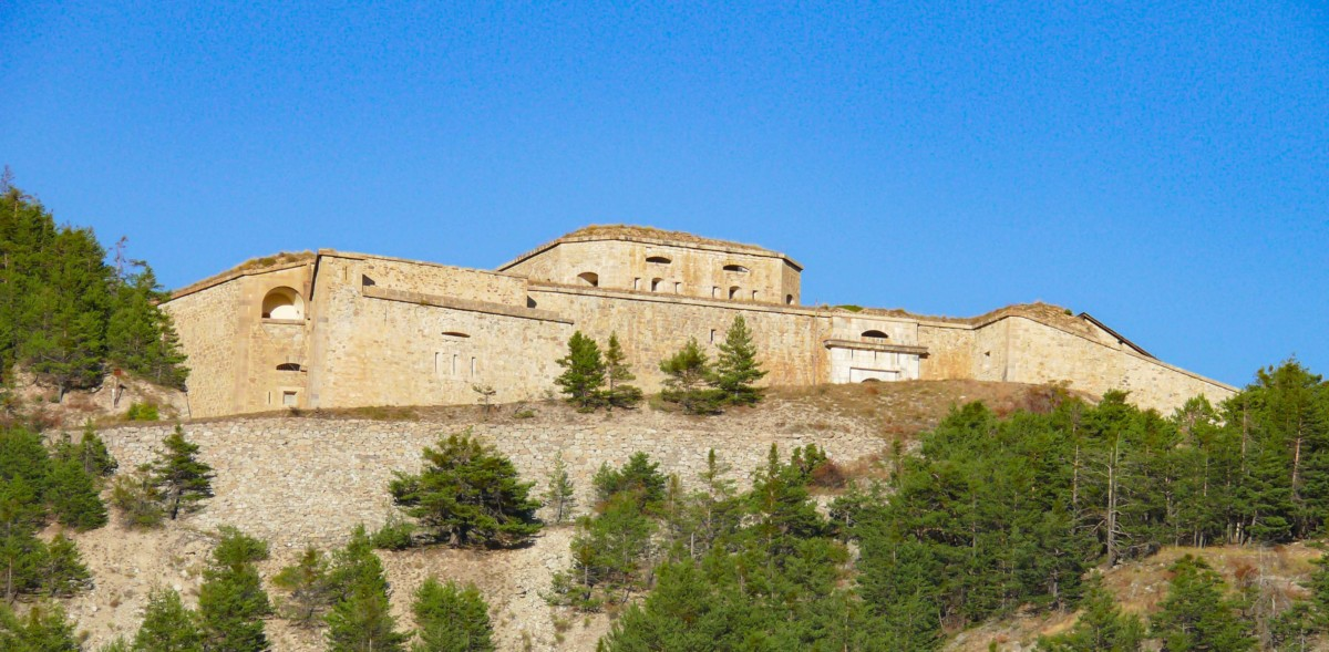 Fort des Salettes, fortified town of Briançon © MOSSOT - licence [CC BY 3.0] from Wikimedia Commons