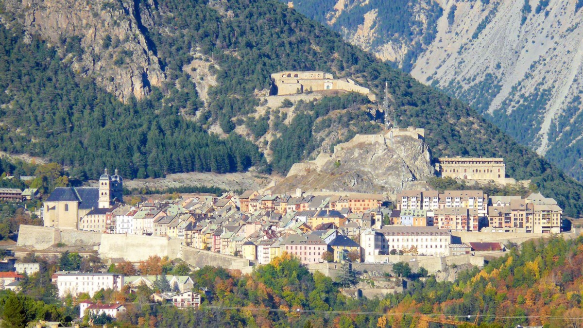 General View of the fortified town of Briançon © MOSSOT - licence [CC BY 3.0] from Wikimedia Commons
