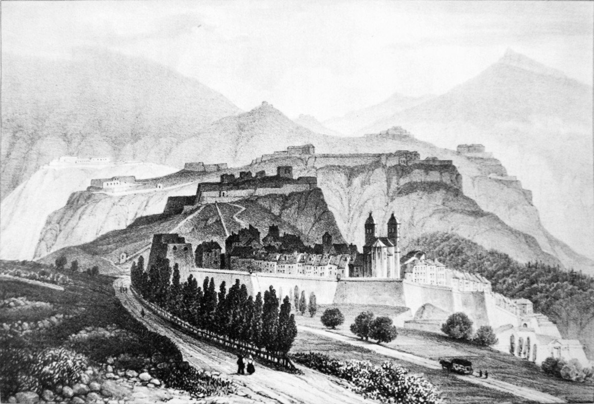 Briançon in the early 19th century