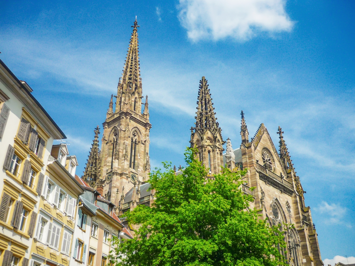 Mulhouse Old Town - Temple Saint-Etienne © French Moments