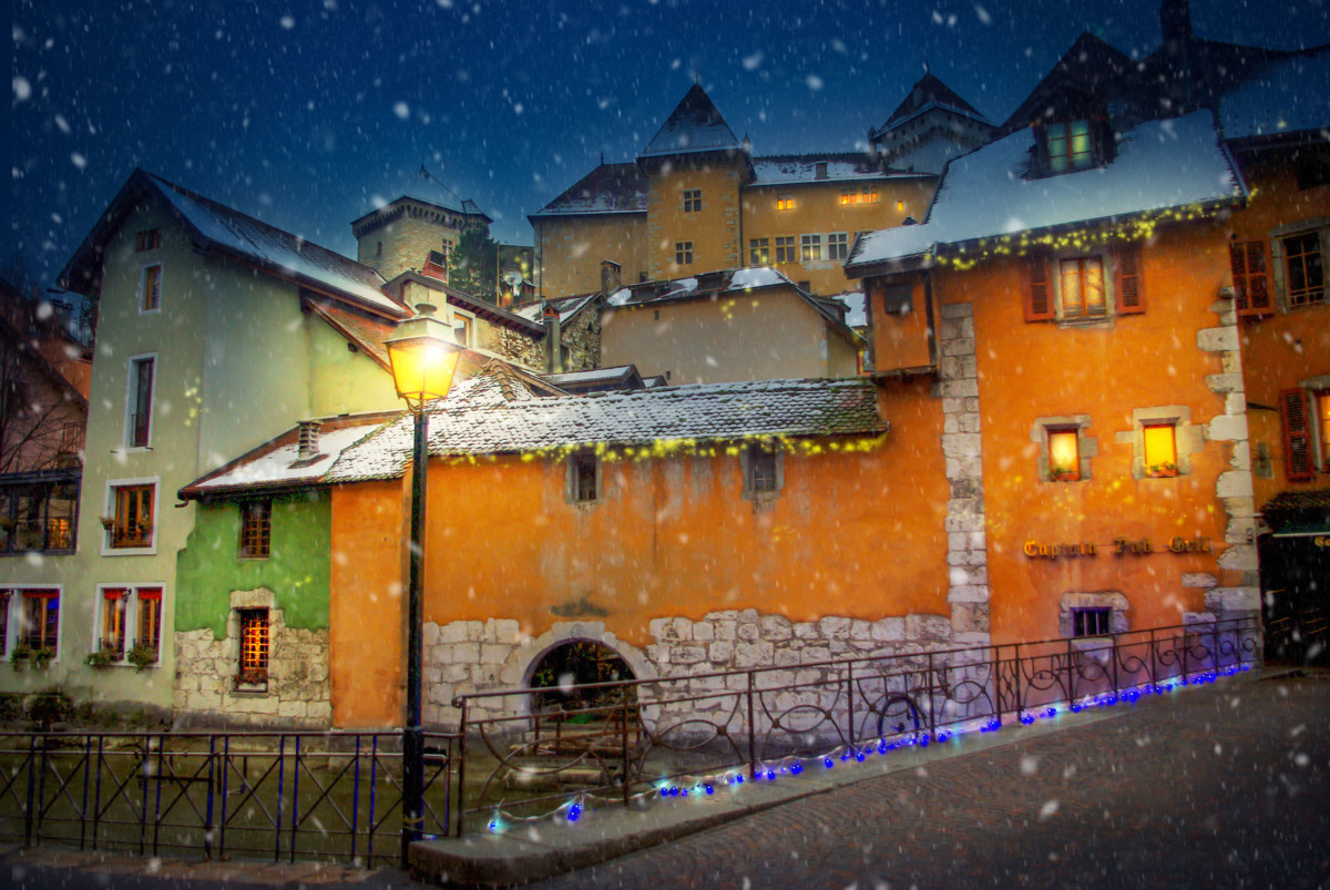 Annecy at Christmas © French Moments