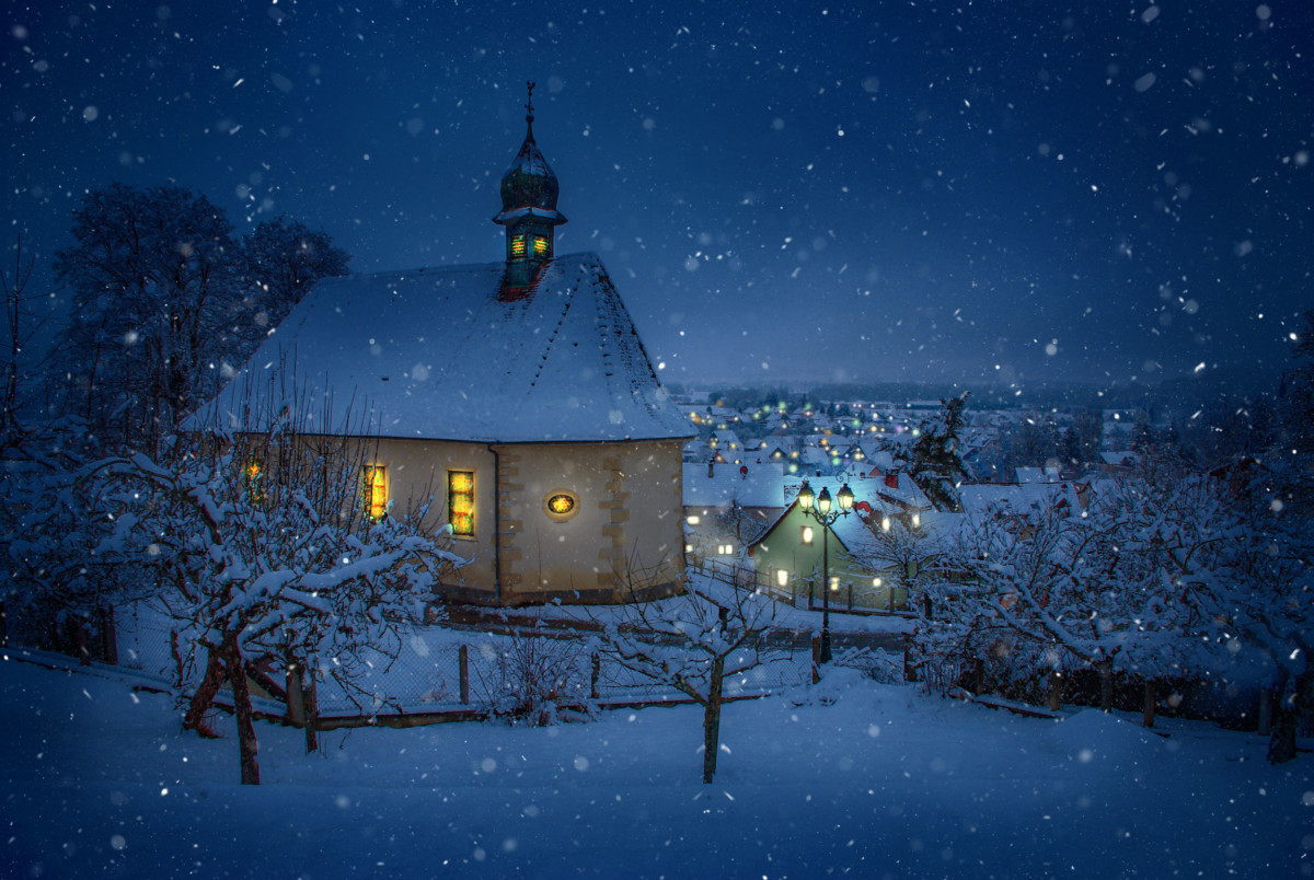 A French Winter Wonderland: Village of Hirtzbach © French Moments